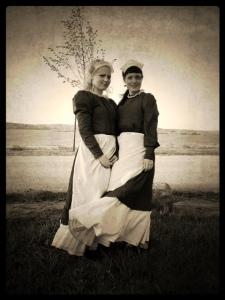 Pigor på Heagård